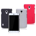 Чехол Nillkin Hard case для LG Optimus L7 II Dual P715 (черный, пластиковый)