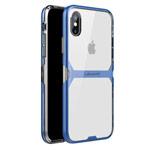 Чехол Nillkin Crystal case для Apple iPhone X (синий, гелевый)