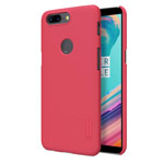 Чехол Nillkin Hard case для OnePlus 5T (красный, пластиковый)