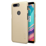 Чехол Nillkin Hard case для OnePlus 5T (золотистый, пластиковый)