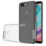 Чехол Nillkin Nature case для OnePlus 5T (серый, гелевый)