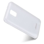 Чехол Jekod Soft case для Samsung Galaxy S2 i9100/S2 Plus i9105 (белый, гелевый)