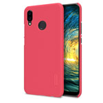 Чехол Nillkin Hard case для Huawei P20 lite (красный, пластиковый)