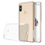 Чехол Nillkin Nature case для Xiaomi Redmi Note 5 pro (прозрачный, гелевый)