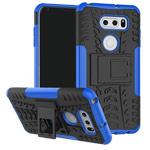Чехол Yotrix Shockproof case для LG V30 (синий, пластиковый)