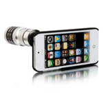 Чехол с объективом C-Double для Apple iPhone 5 (Telephoto 12X, телеобъектив)