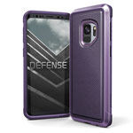 Чехол X-doria Defense Lux для Samsung Galaxy S9 (Purple Nylon, маталлический)