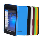 Чехол Jekod Hard case для BlackBerry Z10 (синий, пластиковый)