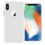 Чехол Mercury Goospery Jelly Case Hole для Apple iPhone X (белый, гелевый)