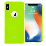 Чехол Mercury Goospery Jelly Case Hole для Apple iPhone X (зеленый, гелевый)