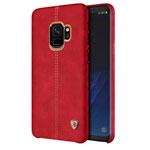 Чехол Nillkin Englon Leather Cover для Samsung Galaxy S9 (красный, кожаный)
