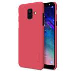 Чехол Nillkin Hard case для Samsung Galaxy A6 2018 (красный, пластиковый)
