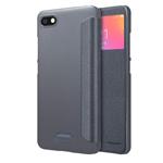 Чехол Nillkin Sparkle Leather Case для Xiaomi Redmi 6A (темно-серый, винилискожа)