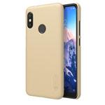 Чехол Nillkin Hard case для Xiaomi Redmi 6 pro (золотистый, пластиковый)