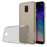 Чехол Nillkin Nature case для Samsung Galaxy A6 2018 (серый, гелевый)