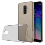 Чехол Nillkin Nature case для Samsung Galaxy A6 plus 2018 (серый, гелевый)