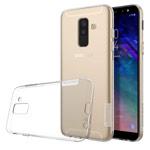Чехол Nillkin Nature case для Samsung Galaxy A6 plus 2018 (прозрачный, гелевый)