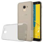 Чехол Nillkin Nature case для Samsung Galaxy J6 (серый, гелевый)