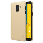 Чехол Nillkin Hard case для Samsung Galaxy J6 (золотистый, пластиковый)