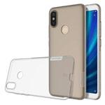 Чехол Nillkin Nature case для Xiaomi Mi A2 (серый, гелевый)