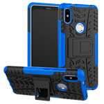 Чехол Yotrix Shockproof case для Xiaomi Redmi S2 (синий, пластиковый)