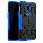 Чехол Yotrix Shockproof case для OnePlus 6 (синий, пластиковый)