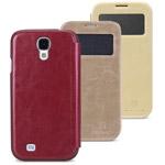 Чехол Nillkin Easy Series Leather case для Samsung Galaxy S4 i9500 (коричневый, кожанный)