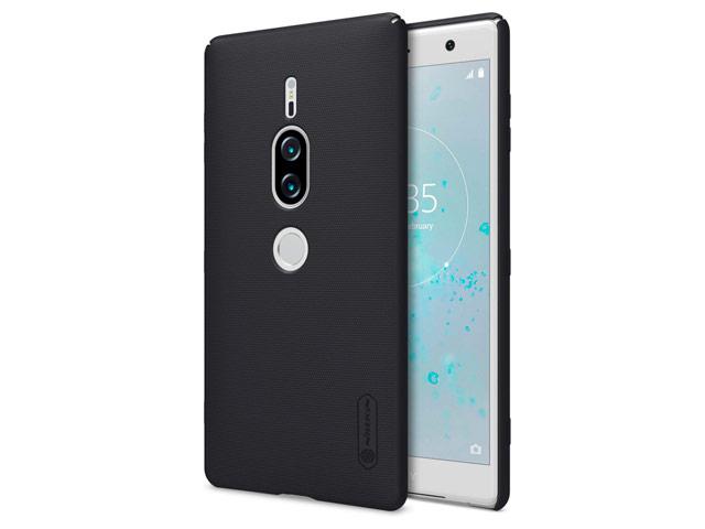 Чехол Nillkin Hard case для Sony Xperia XZ2 premium (черный, пластиковый)