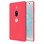 Чехол Nillkin Hard case для Sony Xperia XZ2 premium (красный, пластиковый)