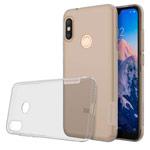 Чехол Nillkin Nature case для Xiaomi Redmi 6 pro (серый, гелевый)