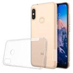 Чехол Nillkin Nature case для Xiaomi Redmi 6 pro (прозрачный, гелевый)