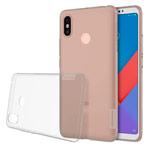 Чехол Nillkin Nature case для Xiaomi Mi Max 3 (серый, гелевый)