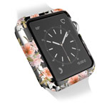 Чехол X-doria Revel Case для Apple Watch Series 2 (42 мм, Floral Smoke, пластиковый)