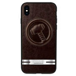 Чехол Marvel Avengers Leather case для Apple iPhone X (Thor, кожаный)