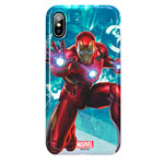Чехол Marvel Avengers Hard 3D case для Apple iPhone X (Ironman, пластиковый)