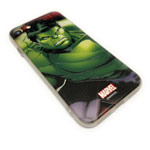 Чехол Marvel Avengers Hard case для Apple iPhone 8 (Hulk, пластиковый)