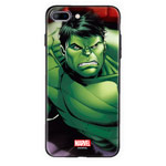 Чехол Marvel Avengers Hard case для Apple iPhone 8 plus (Hulk, пластиковый)