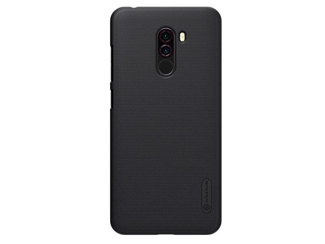 Чехол Nillkin Hard case для Xiaomi Pocophone F1 (черный, пластиковый)