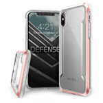 Чехол X-doria Defense Shield для Apple iPhone XS (розовый, маталлический)