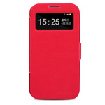Чехол Nillkin V-series Leather case для Samsung Galaxy S4 i9500 (красный, кожанный)