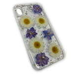 Чехол Yotrix FlowersFoil Case для Apple iPhone XS (Chamomile, гелевый)
