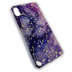 Чехол Yotrix GlitterFoil Case для Apple iPhone XS (Galaxy Two, гелевый)