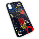 Чехол Yotrix GlitterFoil Case для Apple iPhone XS (Forms, гелевый)