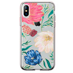 Чехол Comma Crystal Flowers для Apple iPhone XS (Butterfly Black, гелевый)
