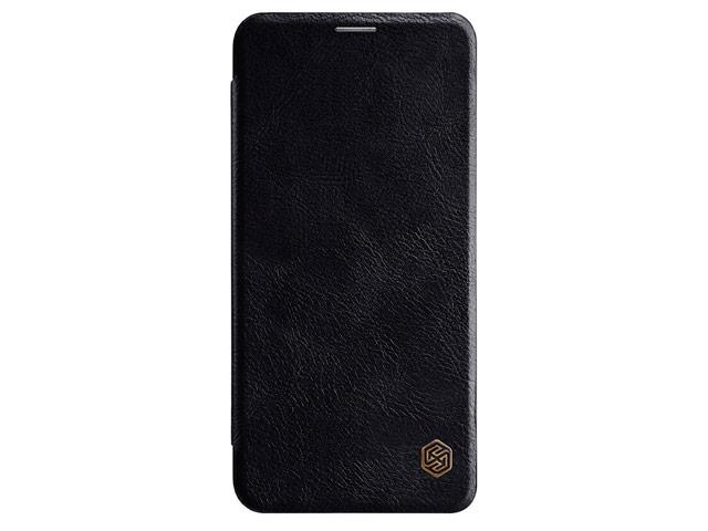 Чехол Nillkin Qin leather case для LG V40 ThinQ (черный, кожаный)