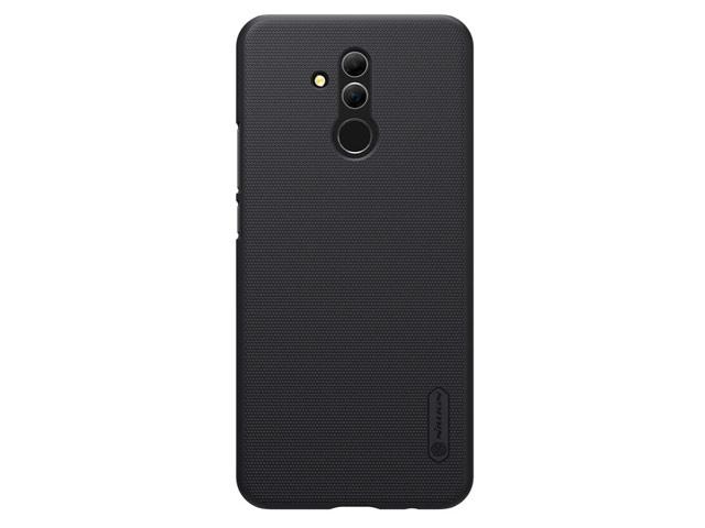 Чехол Nillkin Hard case для Huawei Mate 20 lite (черный, пластиковый)