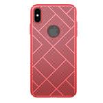 Чехол Nillkin Air case для Apple iPhone XS max (красный, пластиковый)