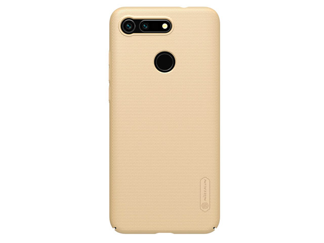Чехол Nillkin Hard case для Huawei Honor V20 (золотистый, пластиковый)