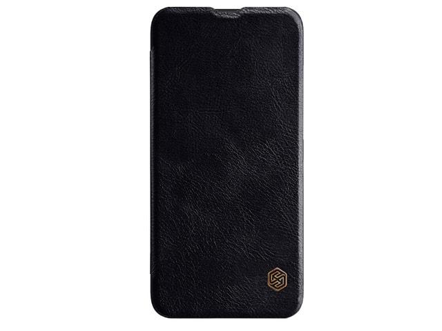 Чехол Nillkin Qin leather case для Huawei Honor V20 (черный, кожаный)