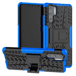 Чехол Yotrix Shockproof case для Huawei P30 pro (синий, гелевый)